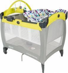 Patut Contour Electra - Toy Town Graco Patut bebe,tarcuri si saltele