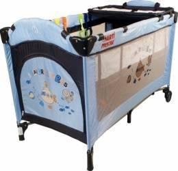 Patut pliabil ARTI MediumGo - AlbastruBleumarin Patut bebe,tarcuri si saltele