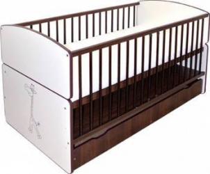 Patut Transformabil Pentru Copii BARTEK II SAFARI Patut bebe,tarcuri si saltele