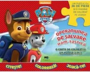 Paw Patrol Operatiunea de salvare ham-tastica Carti