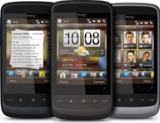 imagine Telefon Mobil HTC Touch 2 Black htc00147