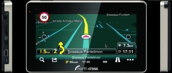 pret preturi GPS North Cross es550 HD + Harta Romaniei