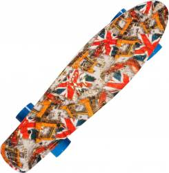 Penny Board Action Xpload II ABEC-7, PU, Aluminium, 100 KG British Flag Penny Board