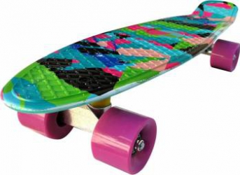 Penny Board Action Xpload II ABEC-7, PU, Aluminium, 100 KG New Age Penny Board