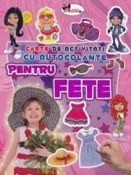 Pentru fete - Carte de activitati cu autocolante Carti