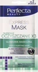 Perfecta Beauty Express Mask - Masca purificatoare pentru fata 10 ml Produse pentru ten