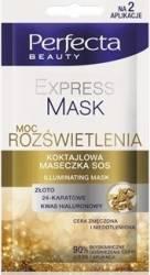 PERFECTA BEAUTY MASCA S.O.S. pentru stralucire pentru fata si zona ochilor 10 ml Produse pentru ten