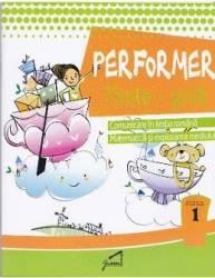 Performer Teste-grila - Clasa 1 - Romana mate expl. mediului Carti