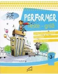 Ne pregatim pentru concursurile scolare. Teste-Grila - Clasa 3 - Romana Mate Stiinte Carti