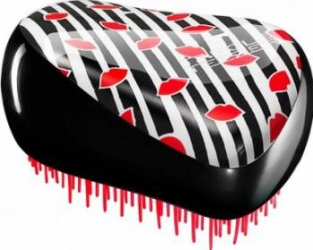 Perie Tangle Teezer Compact Styler Lulu Guinness Red Lips Perii de par