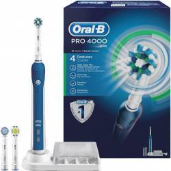 Periuta de Dinti cu Acumulator BRAUN Oral B Professional 4000 Cross Action Box Periute electrice si dus bucal