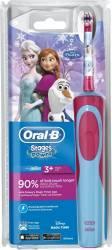 Periuta de Dinti Electrica Oral-B Frozen pentru Copii Roz-Albastru Periute electrice si dus bucal