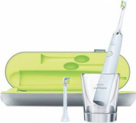 Periuta de dinti electrica Philips Sonicare DiamondClean HX933204 31000 miscari de curatareminut 5 moduri 2 capete Periute electrice si irigatoare