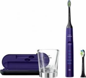 Periuta de dinti electrica Philips Sonicare DiamondClean HX9372/04, 31000 miscari de curatare/minut, 5 moduri, 2 capete Periute electrice si irigatoare