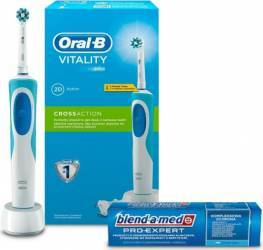 Periuta electrica Oral B D12-513 CrossAction + Blend-a-med Pro Expert 75ml