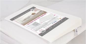 Perna antisufocare cu husa antialergica 4060 cm Fiki Miki