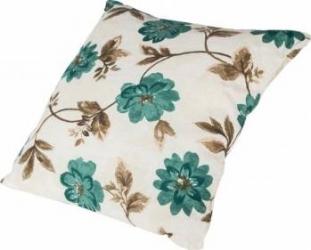 Perna decorativa 40x40 cm - Flori Albastre Perne