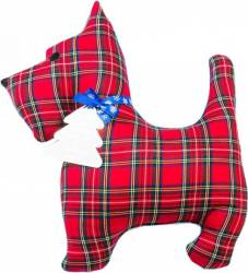 Perna decorativa Ideia SCOTCH TERRIER, 40 x 50 cm, Rosu Perne