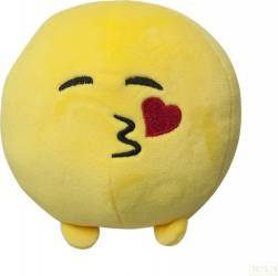 Perna Din Plus Rotunda Emoticon Face Throwing a Kiss 11cm