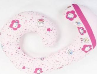 Perna gravide 3 in 1 SOMN USOR Funny Kitty Accesorii alaptare
