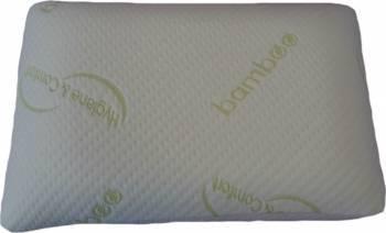 Perna Meltem Textil Memory Bamboo 40X60CM White Perne