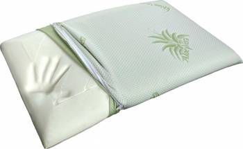 Perna Home Stilll Memory Aloe Vera 40x70 CM White Perne