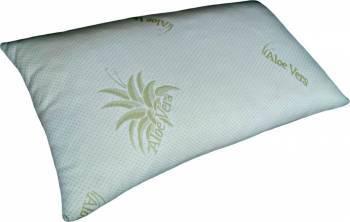 Perna Melten Textil Memory Aloe Vera Granule 40x70 CM White Perne