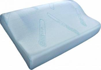 Perna Melten Textil Memory Gel Cool Max 40x60 CM White Perne