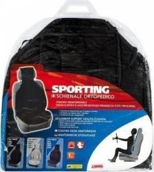 Perna scaun masina Lampa Sporting neagra Huse si Accesorii