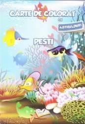 Pesti - Carte de colorat cu abtibilduri