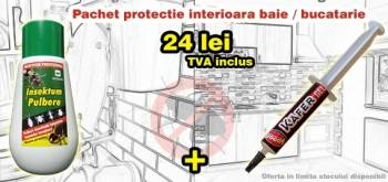 Pestmaster Gel Antigandaci KAFER GEL + Praf Contra Insectelor de Casa 150gr