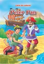 Peter Pan - Carte de colorat