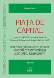 Piata de capital - Sebastian Bodu