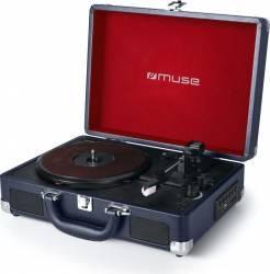 Pick-up MUSE MT-101 DB USB 3.5mm RCA 33/45/78 RPM Negru/rosu Pick up