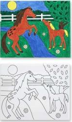 Pictura pe panza canvas Caluti Melissa and Doug Rechizite