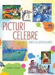 Picturi celebre Corint Carte cu 99 de autocolante numar pagini 32
