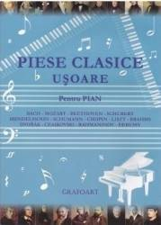 Piese clasice usoare pentru pian Carti
