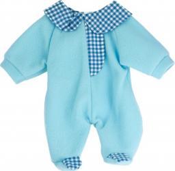 Pijama salopeta bleu pentru papusi Miniland 38-42 cm Papusi figurine si accesorii papusi