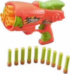 Pistol jucarie KING SPORT CANON Blaster Portocaliu Jucarii