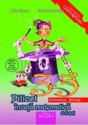 Piticot invata matematica - Grupa Mijlocie - Adina Grigore Cristina Ipate-Toma Carti