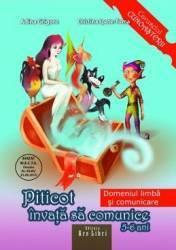 Piticot invata sa comunice - Grupa Mare - Adina Grigore Cristina Ipate-Toma Carti