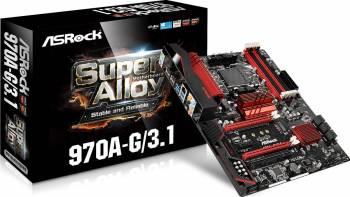 Placa de baza ASRock 970A-G 3.1 Socket AM3+ Placi de baza
