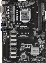 Placa de baza ASRock H110 Pro BTC+ Socket 1151 Mining Placi de baza