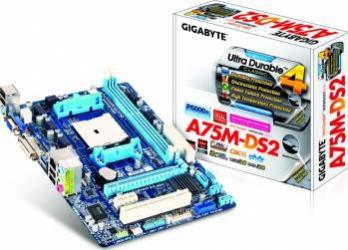 Placa de baza Gigabyte A75M-DS2 Socket FM1 Refurbished