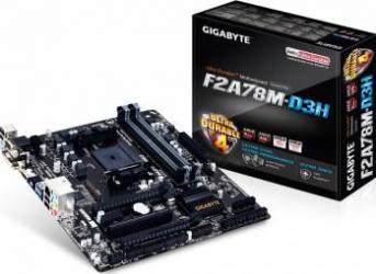 Placa de baza Gigabyte F2A78M-D3H Socket FM2 FM2+ rev 3.0