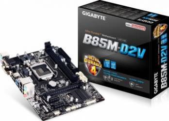 Placa de baza Gigabyte GA-B85M-D2V Socket 1150 Refurbished