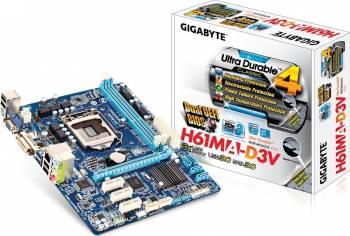 Placa de baza Gigabyte H61MA-D3V Socket 1155 Refurbished 2
