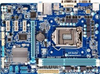 Placa de baza Gigabyte H61MA-D3V Socket 1155 Refurbished