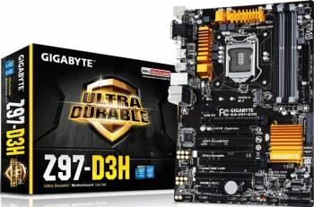 Placa de baza Gigabyte Z97-D3H Socket 1150 rev 1.2