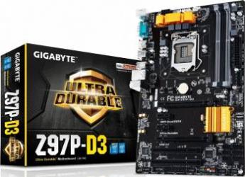 Placa de baza Gigabyte Z97P-D3 DDR3 Socket 1150 rev. 1.1